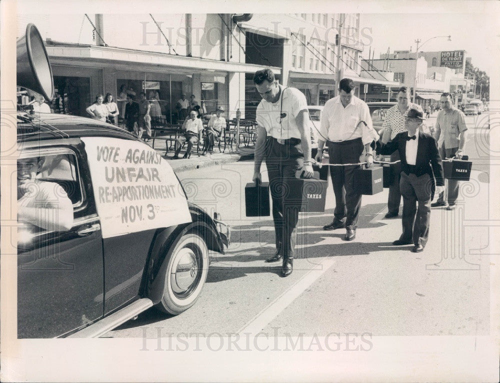 1959 St. Petersburg Florida Republican Club March Press Photo - Historic Images