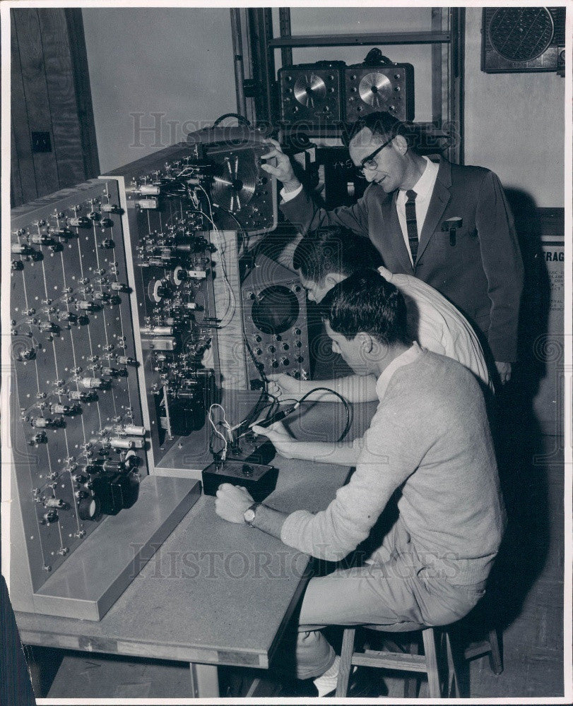 1965 Ocala FL Central Florida Junior College Radiation Technology Press Photo - Historic Images