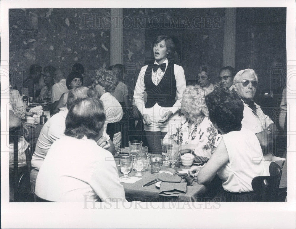1979 St. Petersburg Florida Center Stage Supper Club Jackie Austin Press Photo - Historic Images