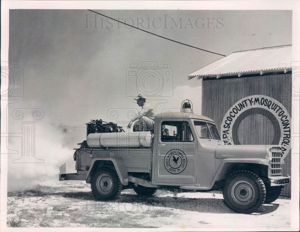 Undated Pasco County Florida Mosquito Control Press Photo - Historic Images