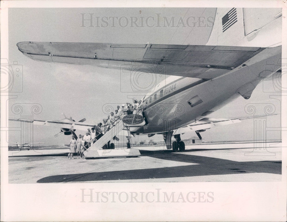 1967 St. Petersburg Florida Century 2000 Air Travel Club Press Photo - Historic Images