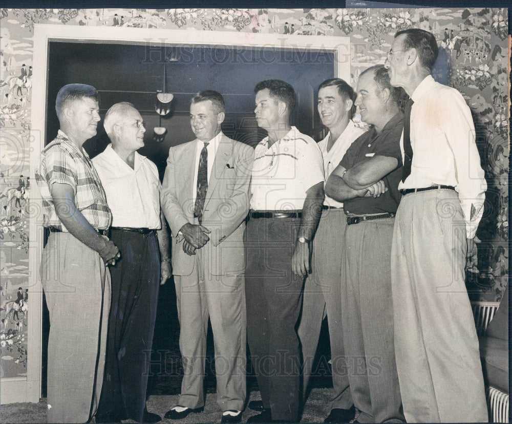 1957 Bradenton Florida Chamber of Commerce Directors Press Photo - Historic Images