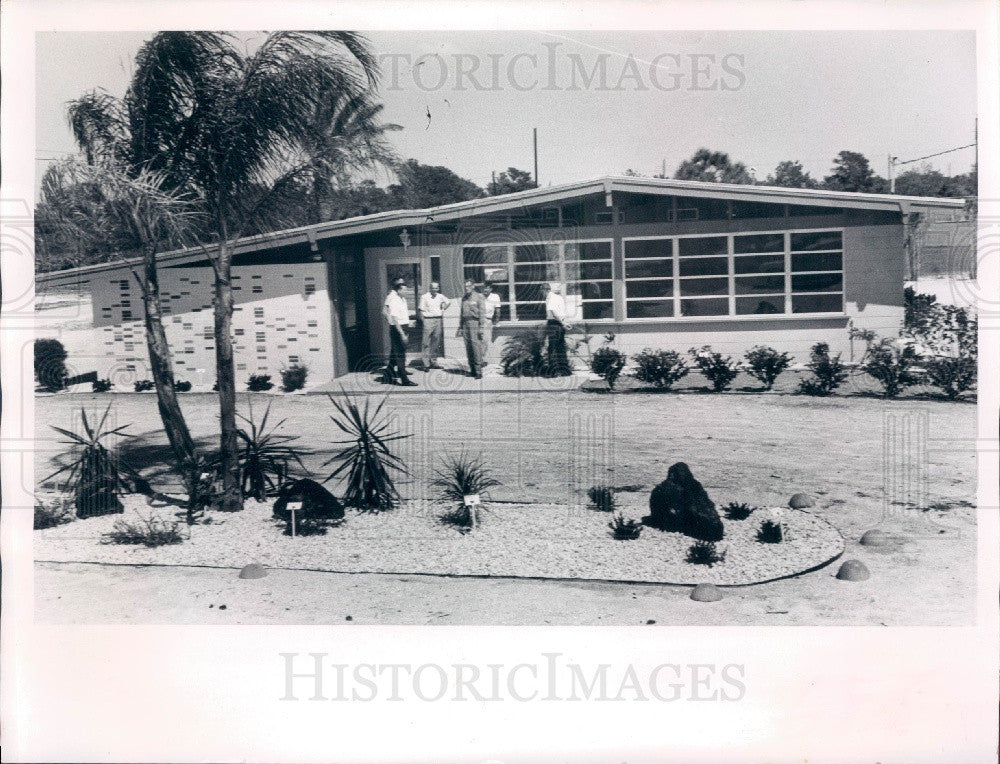 1962 Englewood Florida Chamber of Commerce Building Press Photo - Historic Images
