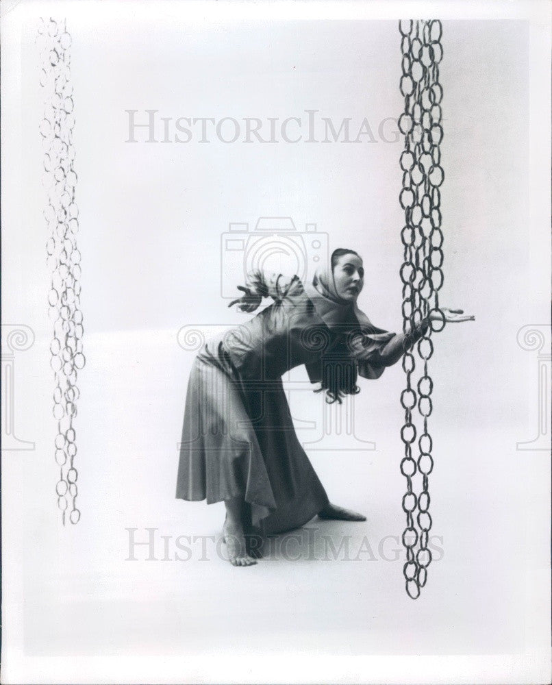 1969 New York Based Interpretive Dance Trio The Choreographers Three Press Photo - Historic Images