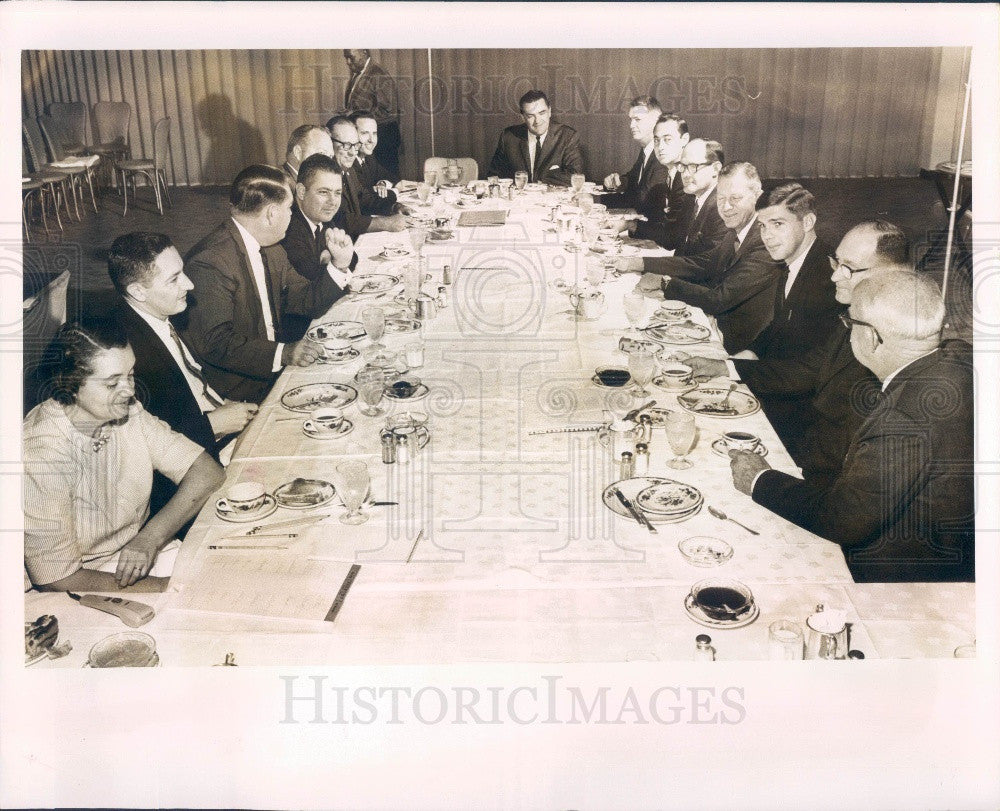 1965 Pinellas County Florida Planning Council Press Photo - Historic Images