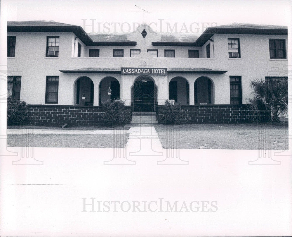 1981 Cassadaga Florida Spiritualist Community Cassadaga Hotel Press Photo - Historic Images