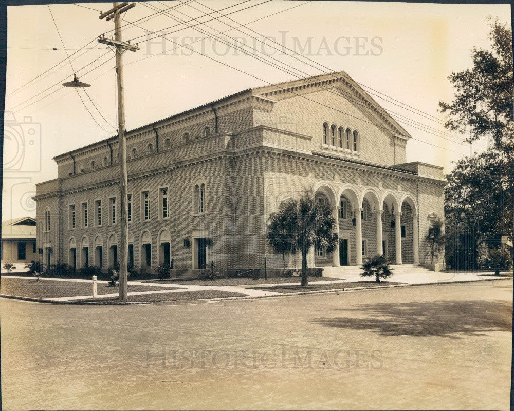 Undated St. Petersburg Florida First Church Of Christ, Scientist Press Photo - Historic Images