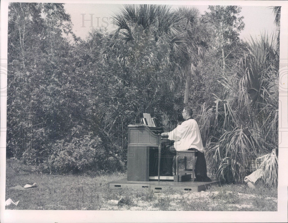 1969 St. Petersburg FL St. Alban's Episcopal Church Groundbreaking Press Photo - Historic Images