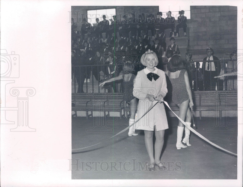 1969 Wildwood Florida Miss Sumter County Debbie Katts Press Photo - Historic Images