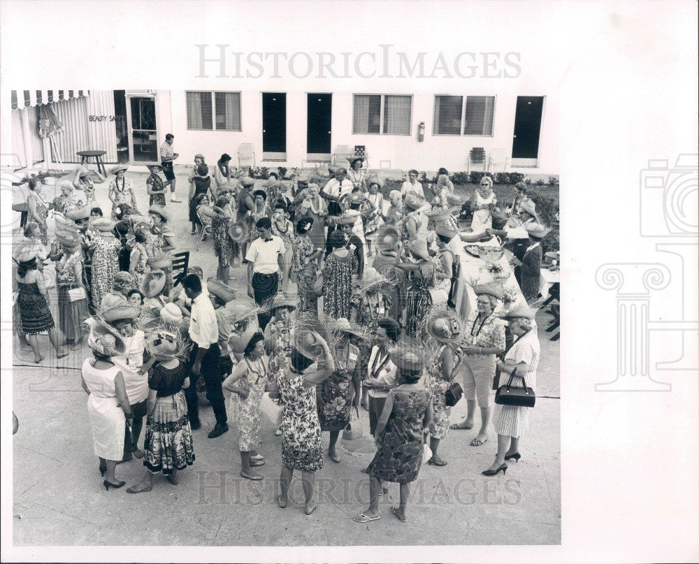 1965 Southern Region Soroptimist Fed of Americas Florida Conference Press Photo - Historic Images