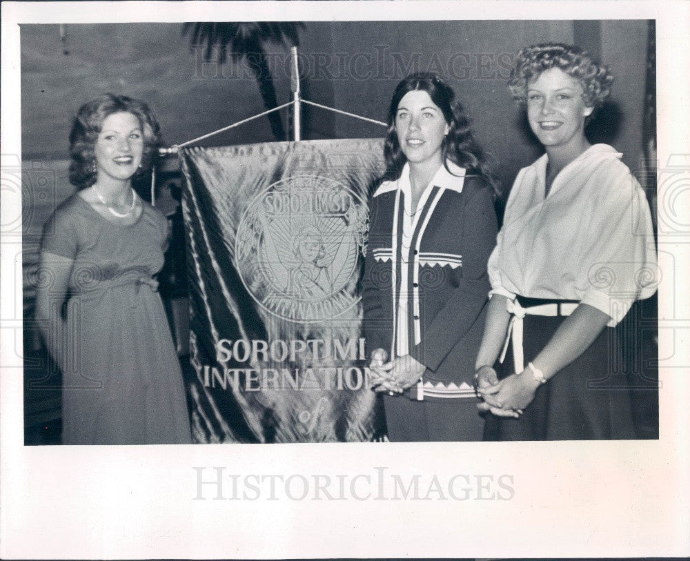 1978 Upper Pinellas Florida Soroptimist Federation of Americas Press Photo - Historic Images