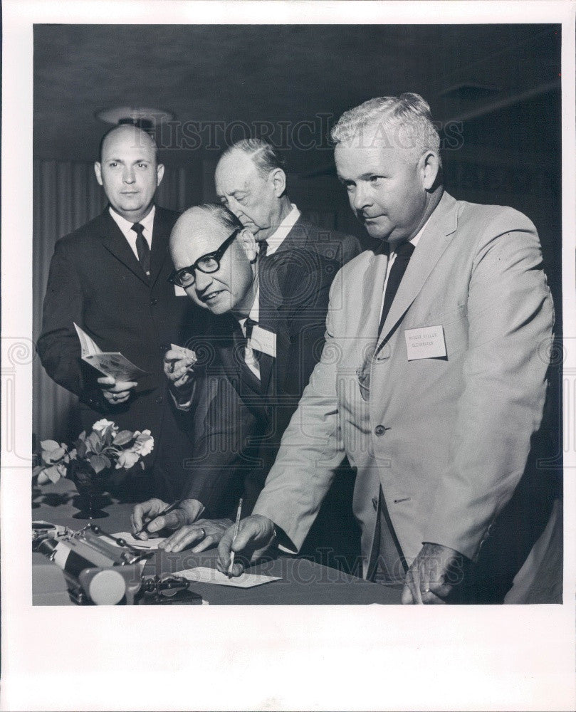 1965 Clearwater Florida Southern Christian Convention Press Photo - Historic Images