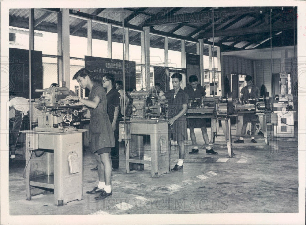 1964 SEATO Training in Thailand Press Photo - Historic Images