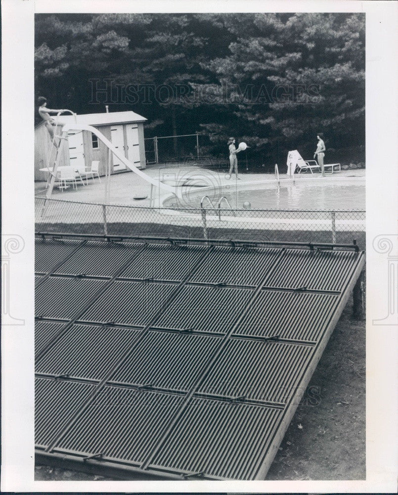 1978 Aluminum Company of America Pool Solar System Press Photo - Historic Images