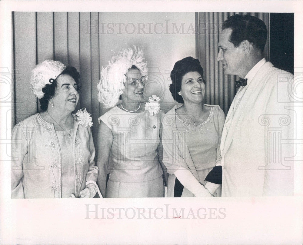 1966 St Petersburg Carreno Music Club Pres & Tenor William Posno Press Photo - Historic Images