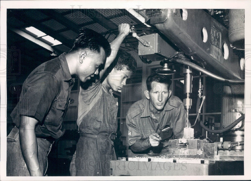 Undated Bangkok, Thailand SEATO Military Technical Training School Press Photo - Historic Images
