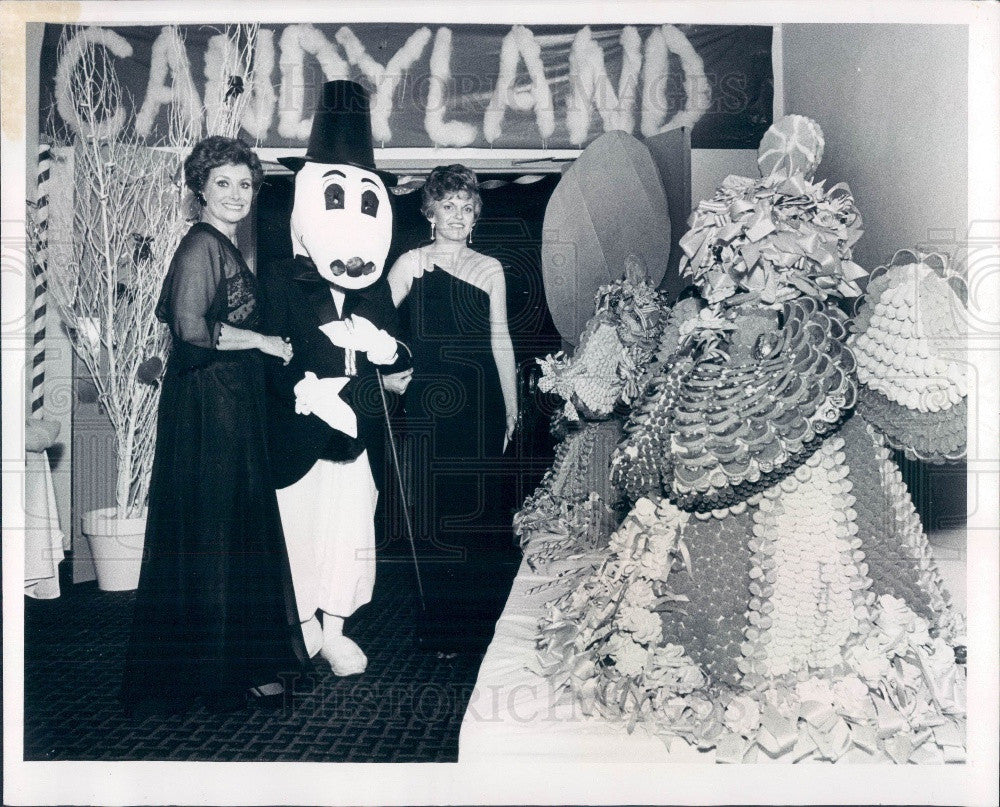 1980 St Petersburg, Florida Children's Hospital Guild Charity Ball Press Photo - Historic Images