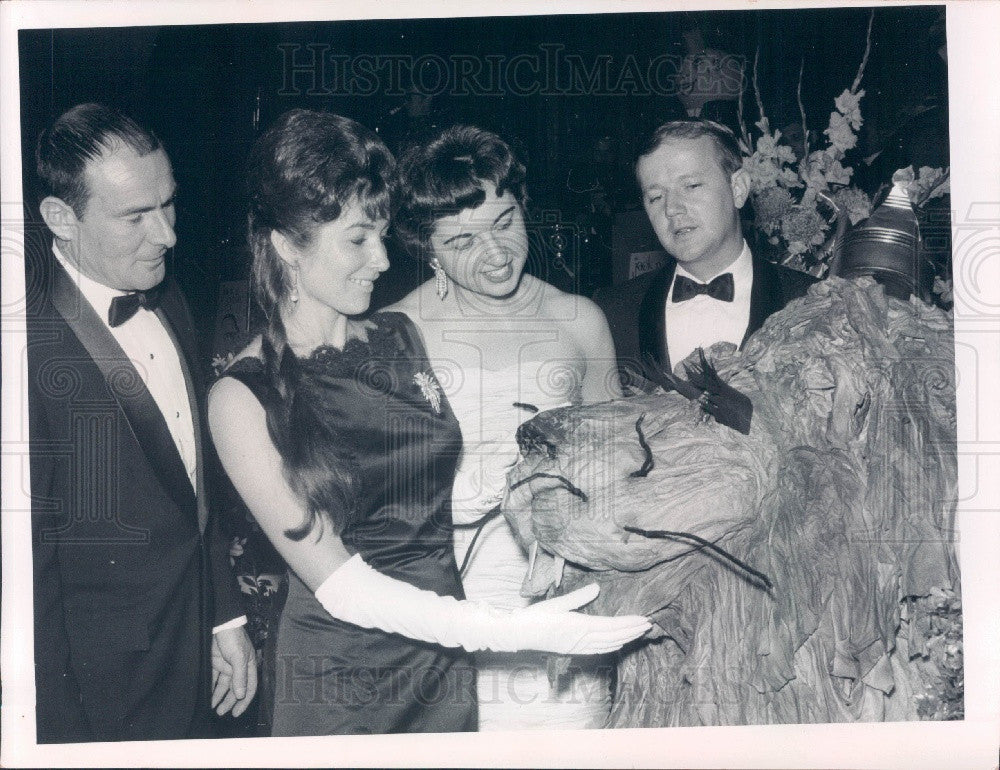 1968 St Petersburg, Florida Children's Hospital Guild Charity Ball Press Photo - Historic Images