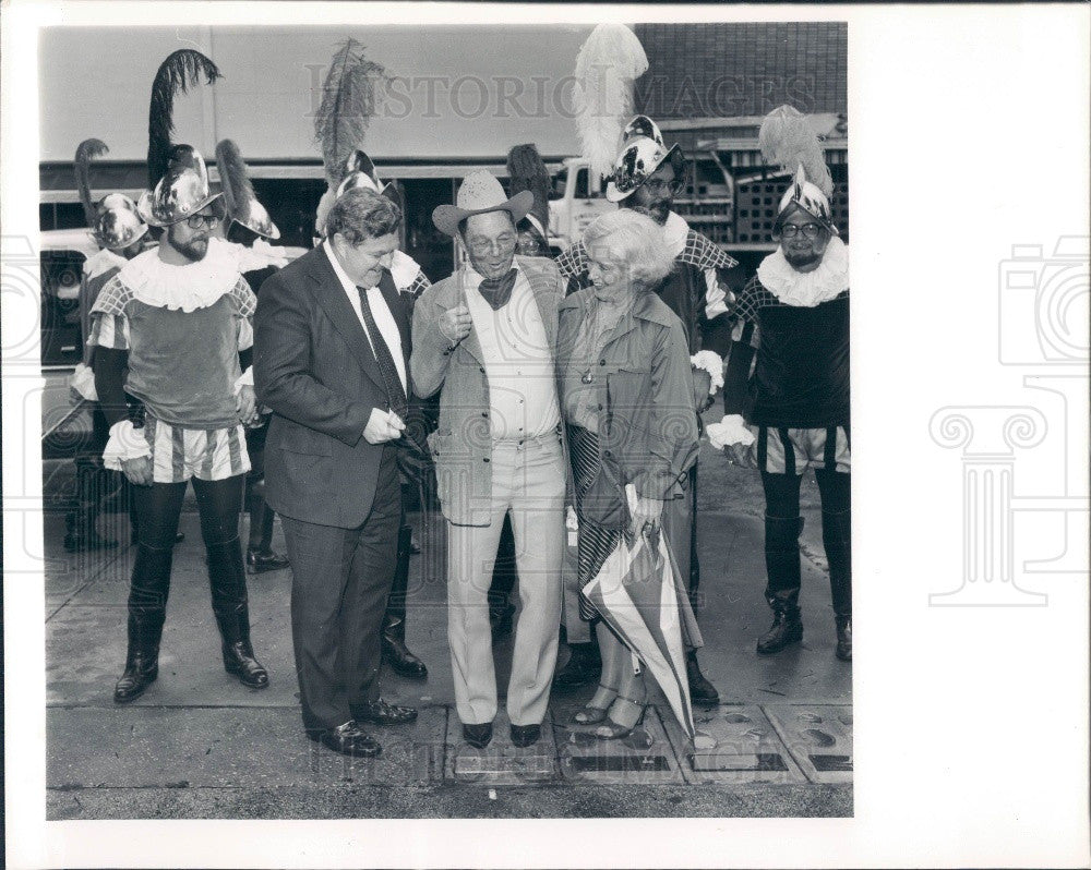 1980 Bradenton, Florida De Soto Celebration Press Photo - Historic Images