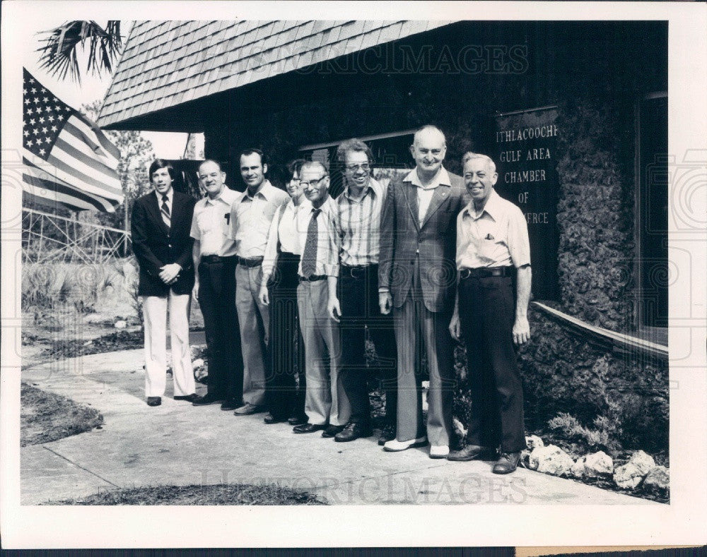 1979 Withlacoochee Florida Gulf Area Chamber of Commerce Directors Press Photo - Historic Images
