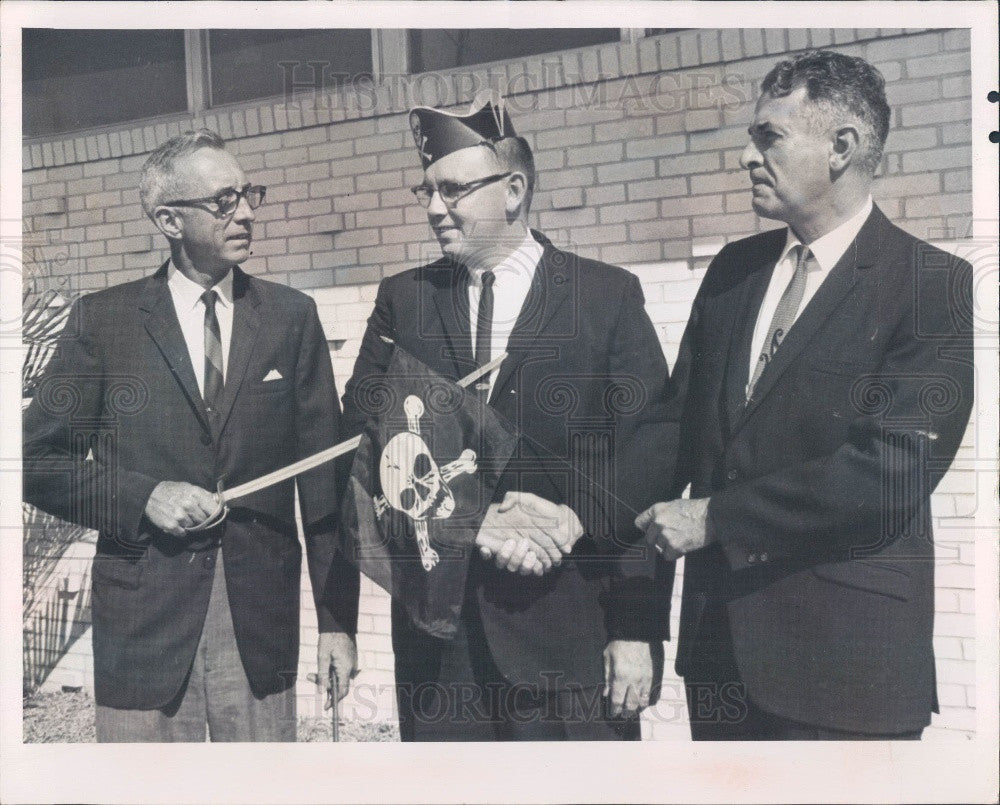 1967 Treasure Island, Florida Chamber of Commerce Director Press Photo - Historic Images