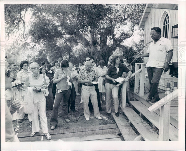 1975 African American Writer Alex Haley Press Photo - Historic Images