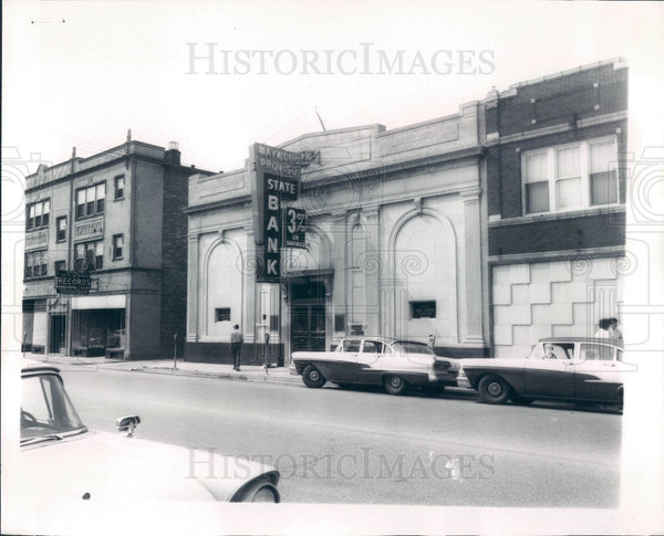 1960 Maywood Illinois Proviso State Bank Press Photo - Historic Images