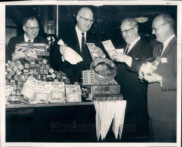 1962 Chicago, Illinois March of Dimes Collection Press Photo - Historic Images