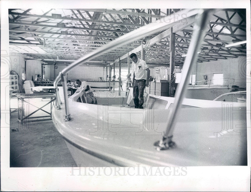 1974 Crystal River, Florida Pro-Line Boat Co Press Photo - Historic Images
