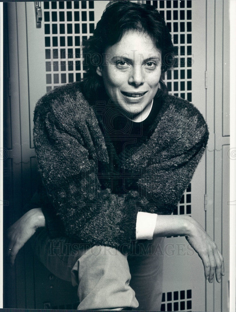 1987 Director Emily Mann Press Photo - Historic Images