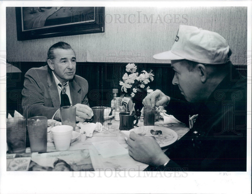 1992 Denver, Colorado US Senate Candidate Ben Nighthorse Campbell Press Photo - Historic Images