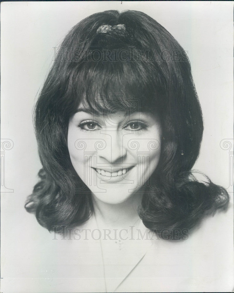1967 Chicago, Illinois Actress Natalie Berns Press Photo - Historic Images
