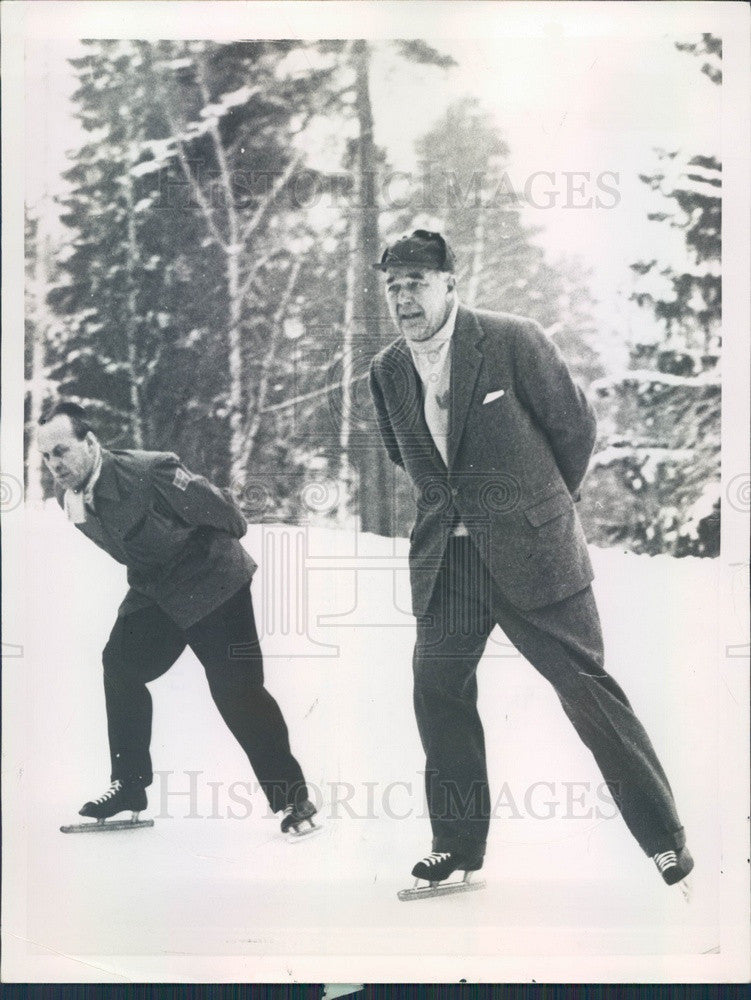 1959 Sweden Prince Bertil & Bertil Lord Press Photo - Historic Images