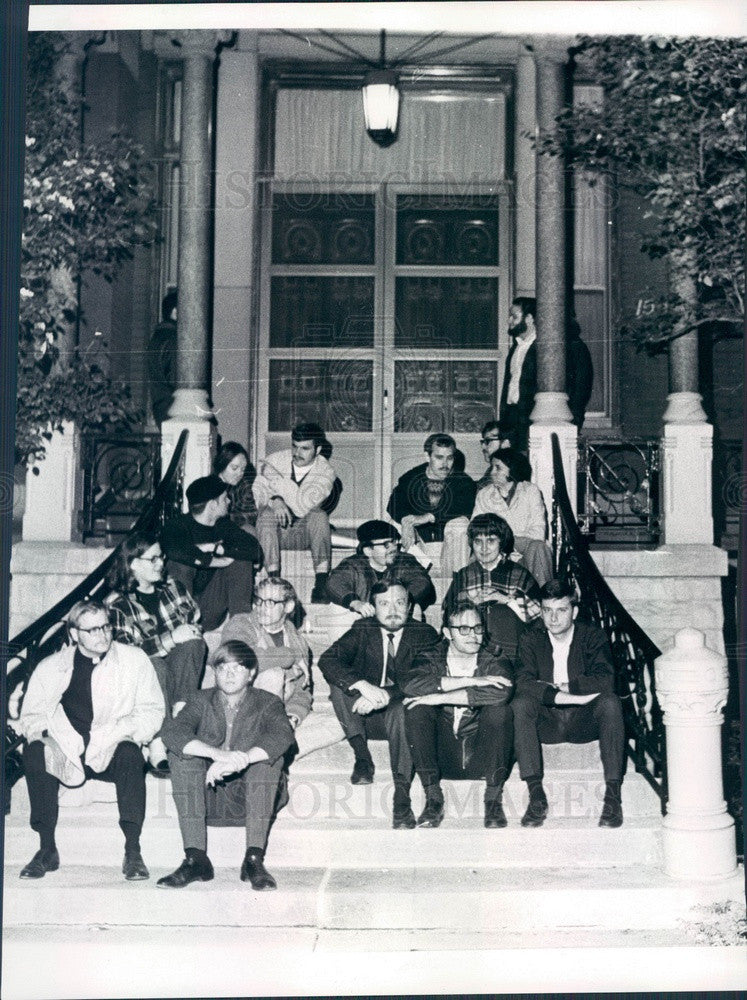 1969 Chicago, IL Seminarians Organized for Racial Justice Press Photo - Historic Images