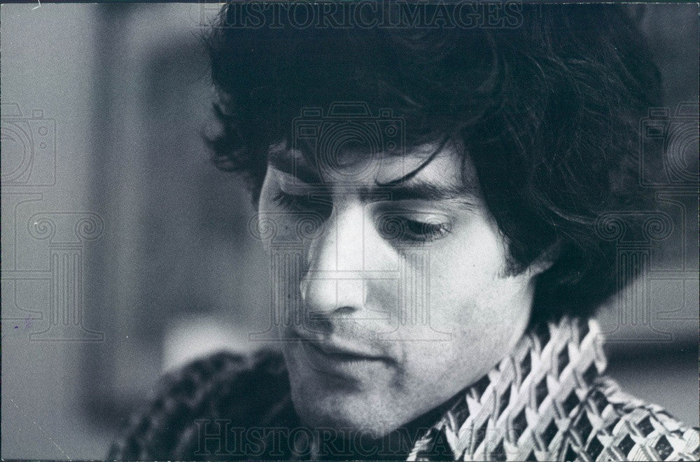 1975 Psychic Uri Geller Press Photo - Historic Images