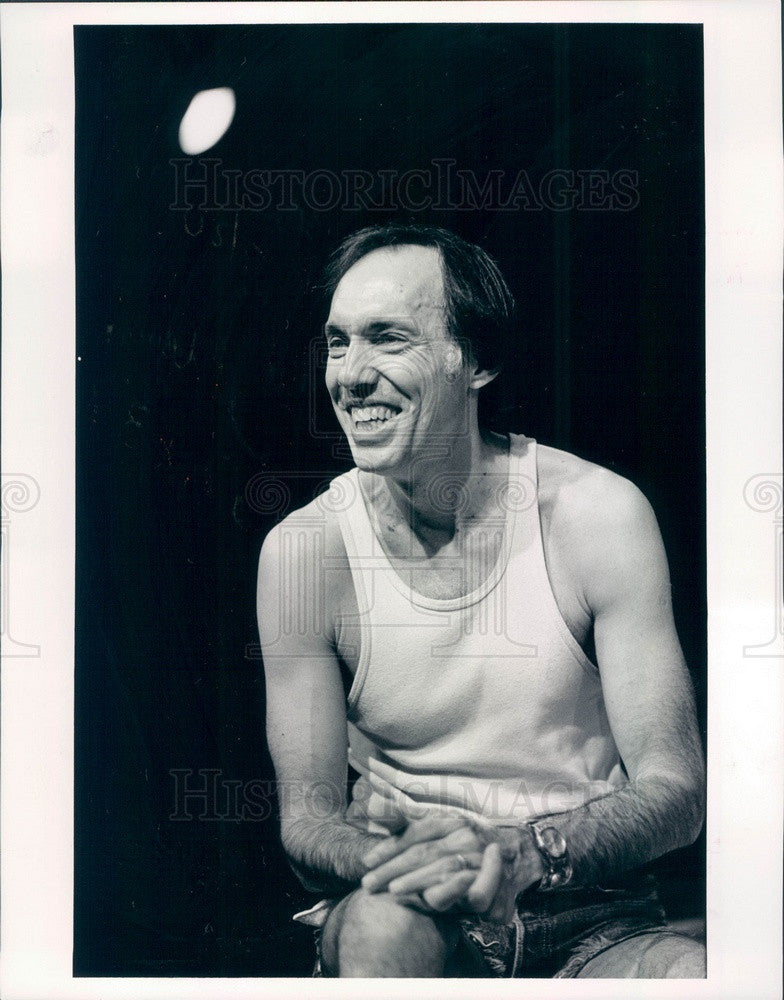 1986 Boulder, Colorado Guild Theater Actor/Director Frank Georgianna Press Photo - Historic Images