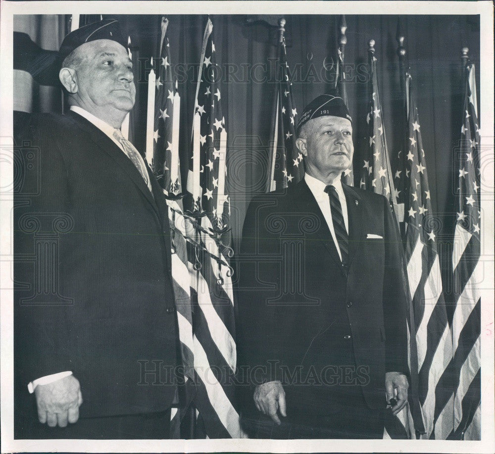 1960 Colorado American Legion Leyden-Chiles-Wickersham Post Press Photo - Historic Images