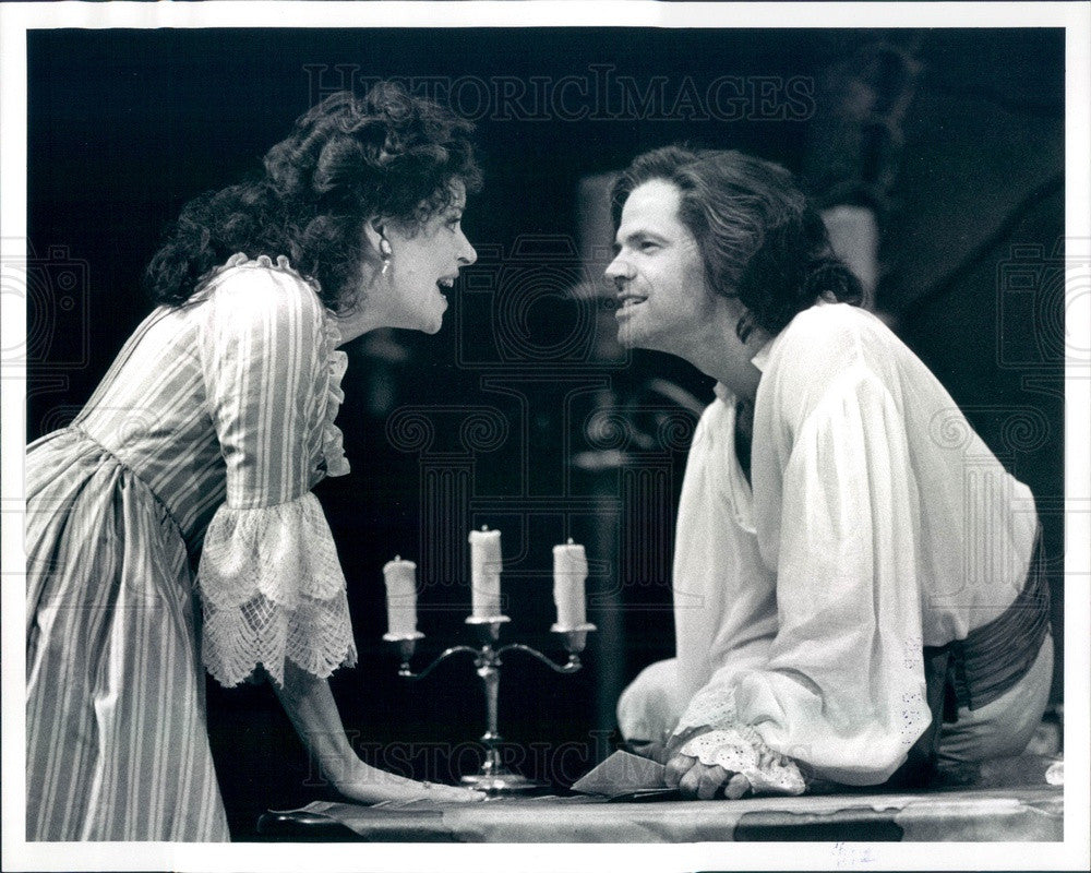 1993 Ontario Shaw Festival Actors Deborah Lambie & Stuart Hughes Press Photo - Historic Images