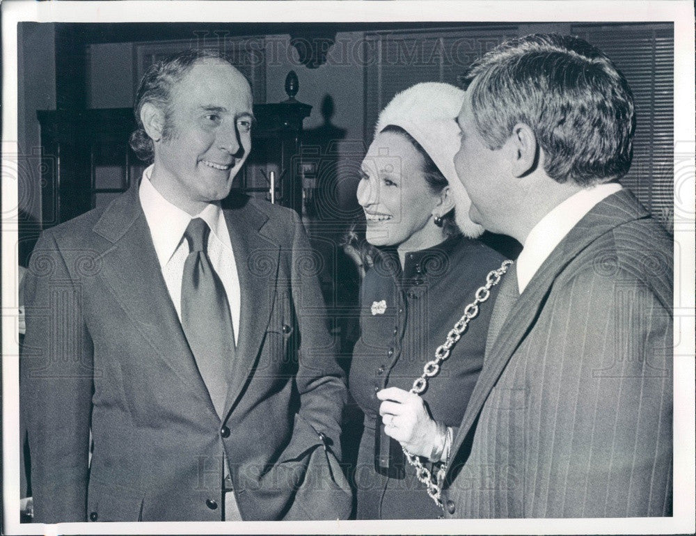 1972 Oscar Winning Composer & Conductor Henry Mancini Press Photo - Historic Images