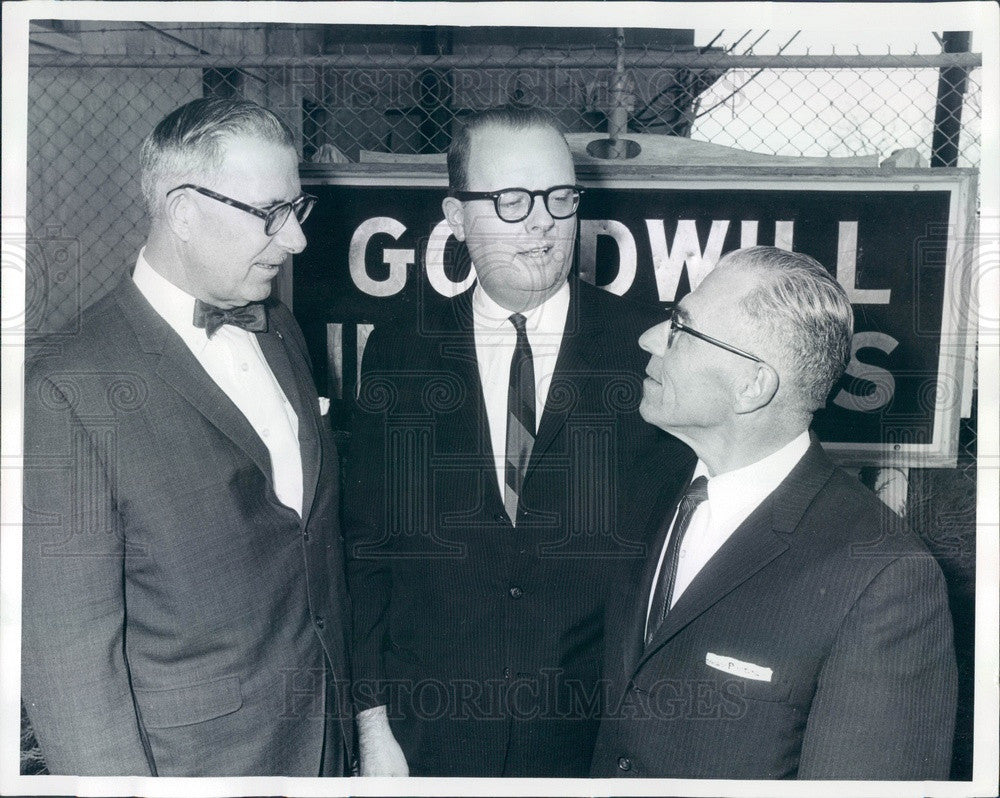 1964 Goodwill Industries of America President Horace Kimbrell Press Photo - Historic Images