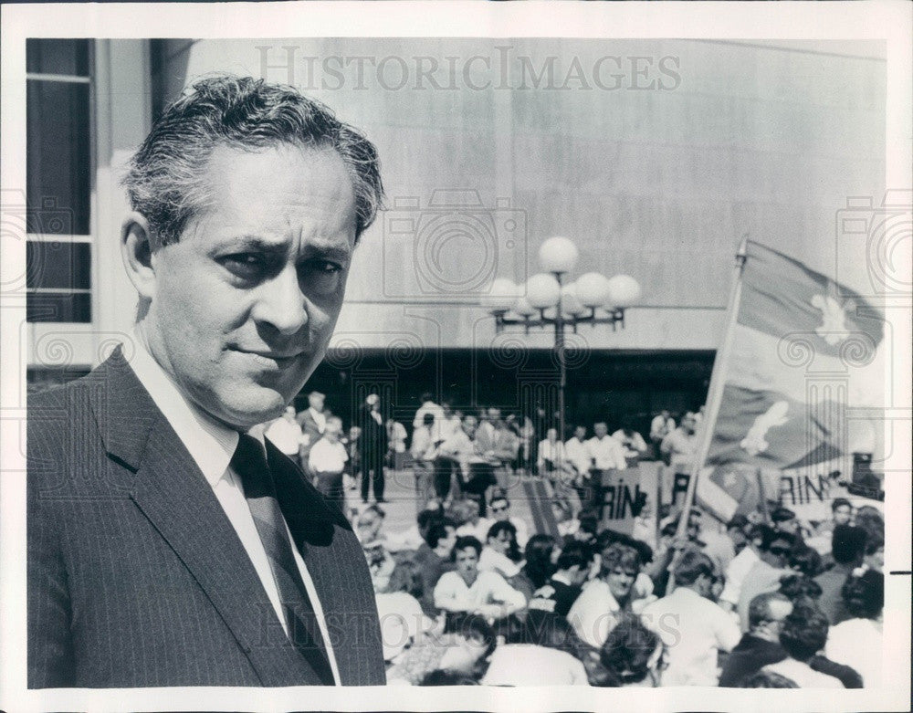 1965 News Correspondent Elie Abel Press Photo - Historic Images