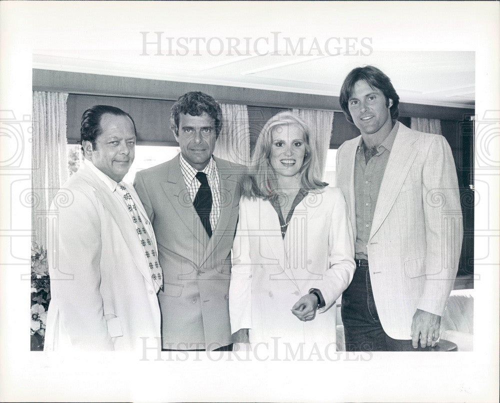 1981 US Gold Medal Olympian Bruce Jenner Press Photo - Historic Images