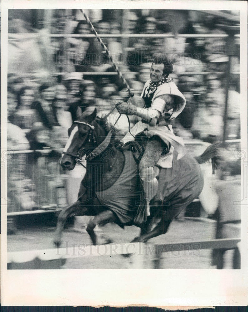 Undated Bristol, England Medieval Fair Jousting Press Photo - Historic Images