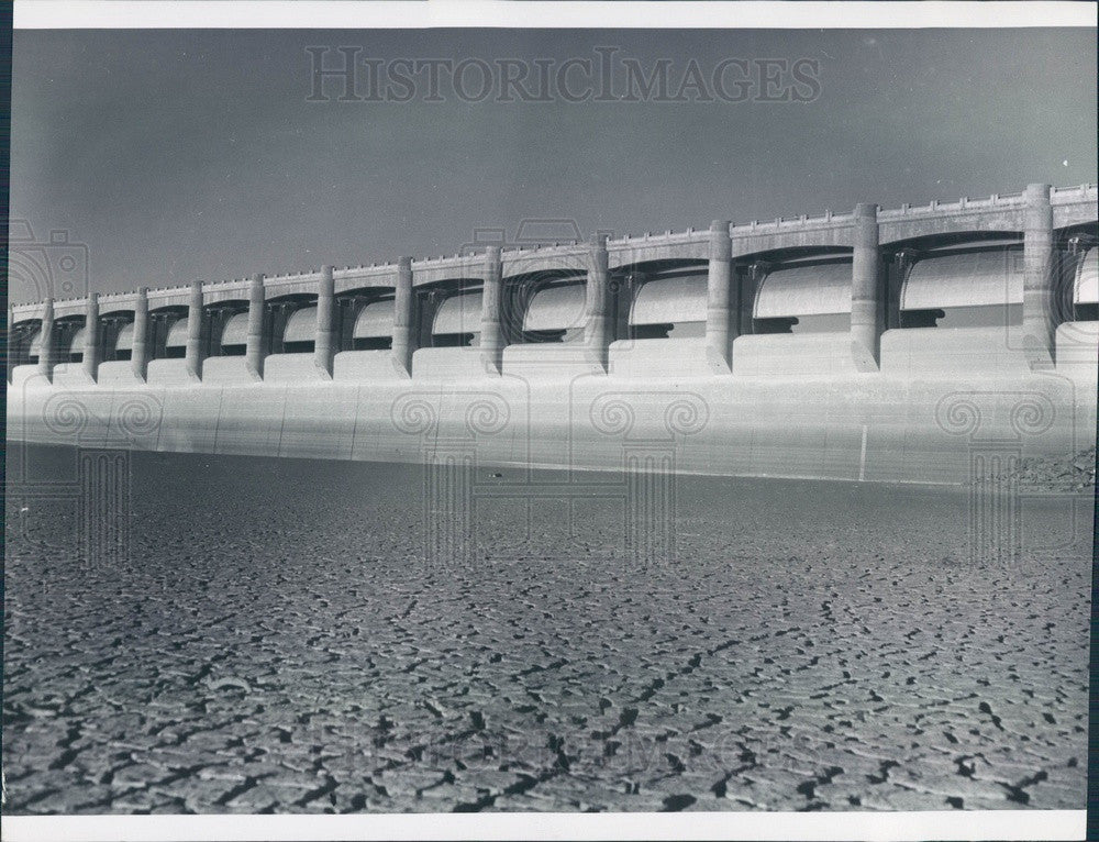 1959 Colorado Dry Martin Reservoir on Arkansas River Press Photo - Historic Images