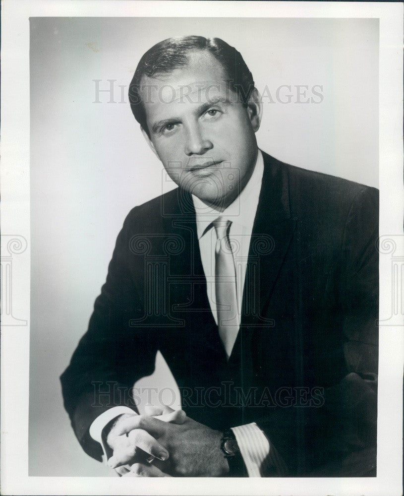 1964 Comedian Alan King Press Photo - Historic Images