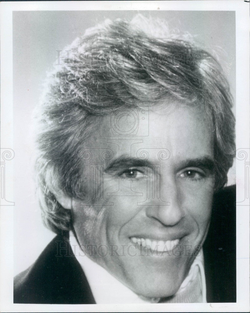 1987 Musician & Composer Burt Bacharach Press Photo - Historic Images