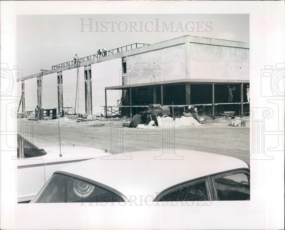 1964 Florida Eckerd Drug Store Headquarters Construction Press Photo - Historic Images