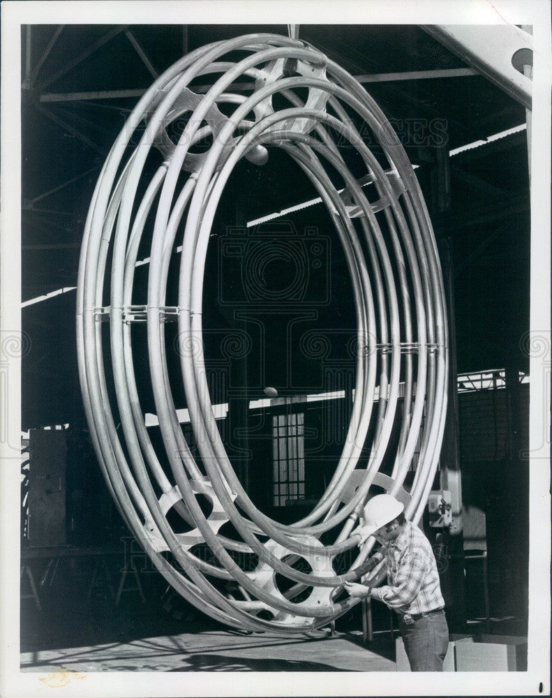 1976 Reynolds Metals AC Transmission Rings Press Photo - Historic Images