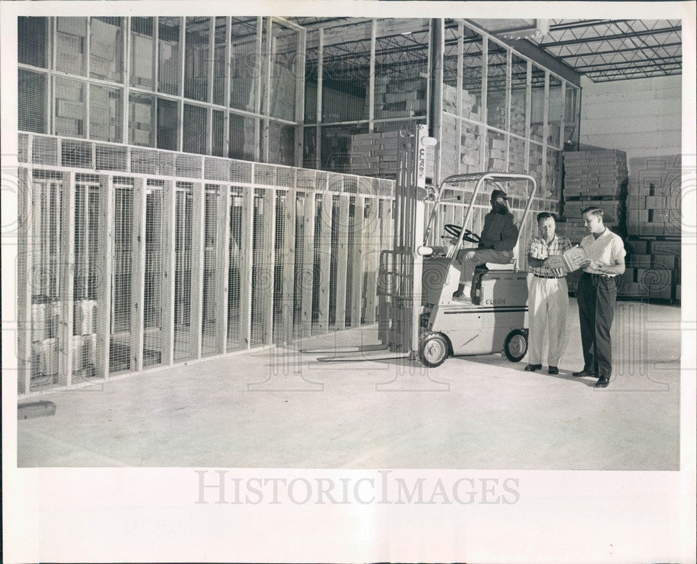 1960 St. Petersburg Florida American Freezers Warehouse Press Photo - Historic Images