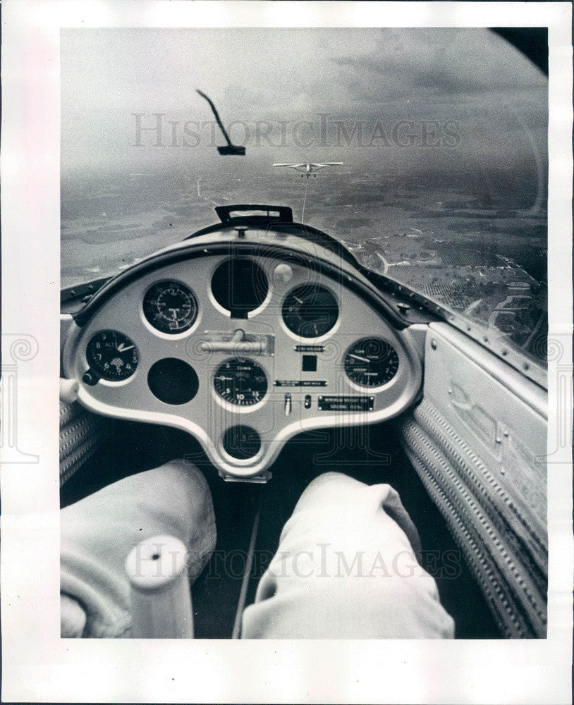 1977 Florida Sailplane Press Photo - Historic Images